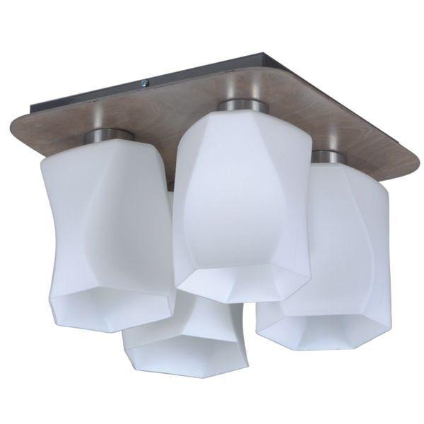 lampa sufitowa nowoczesna asymetryczna