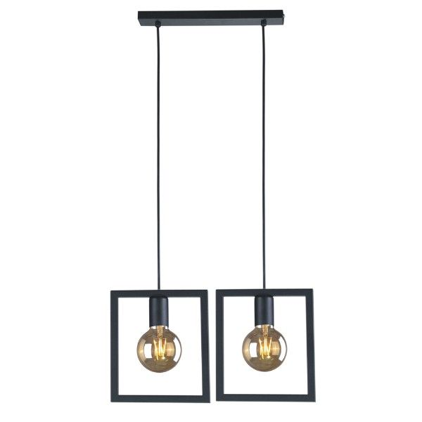 podwójna lampa wisząca, industrialna,skandynawska