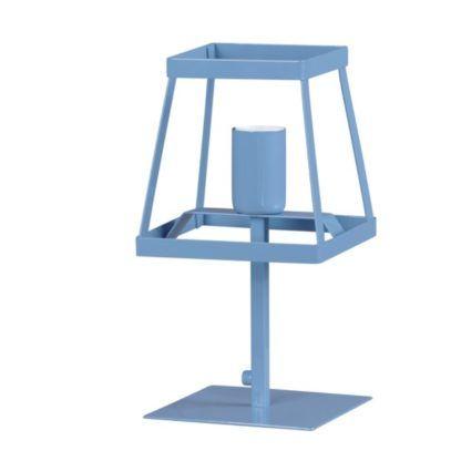 geometryczna lampa biurkowa do pokoju dziecka