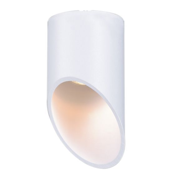 downlight biała tuba