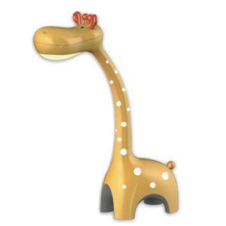 Żółta lampka nocna Żyrafa - wbudowany ściemniacz