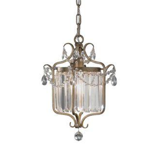 Wyjątkowa lampa wisząca Gianna - połyskujące, szklane detale