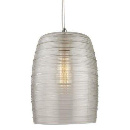 lampa wisząca szklany klosz nowoczesna