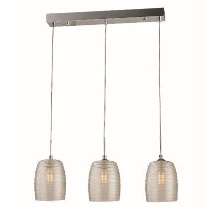 lampa wisząca 3 klosze szklana