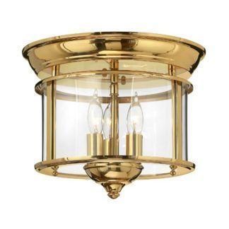 Elegancka lampa sufitowa Gentry - szklany klosz, złota, połyskliwa oprawa