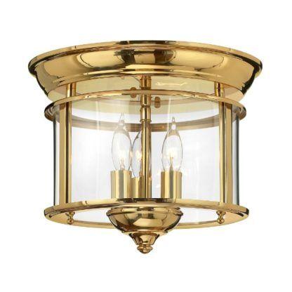okrągła lampa sufitowa w stylu klasycznym, wysoki złoty połysk