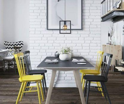 lampa industrialna z żarówką do salonu nad stół