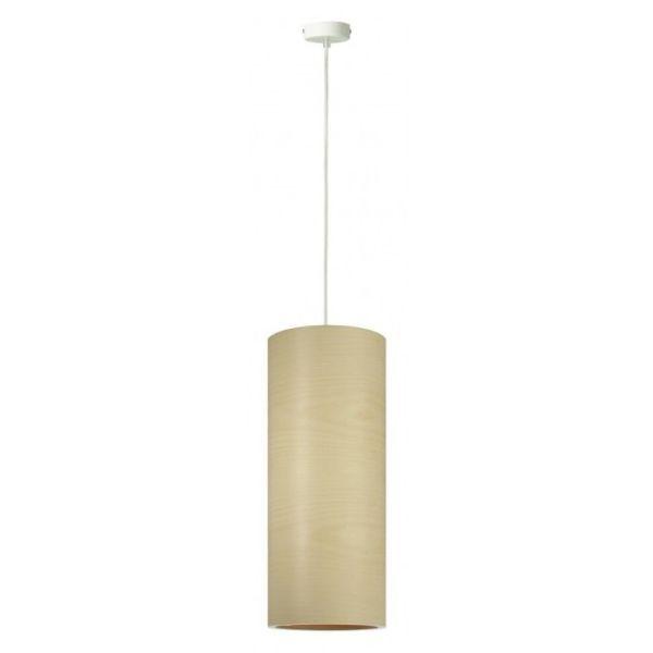 lampa wisząca jasne drewno