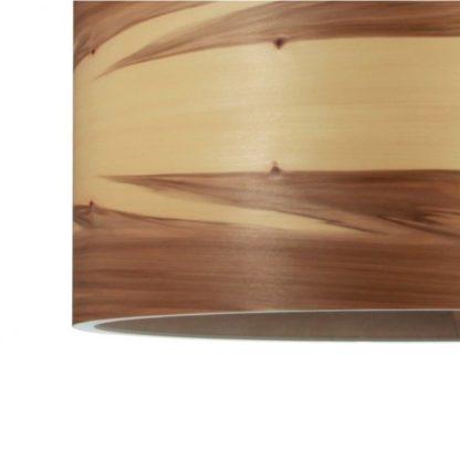 drewniana lampa wisząca do wnętrz nordyckich