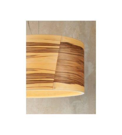 lampa wisząca z drewnianej sklejki