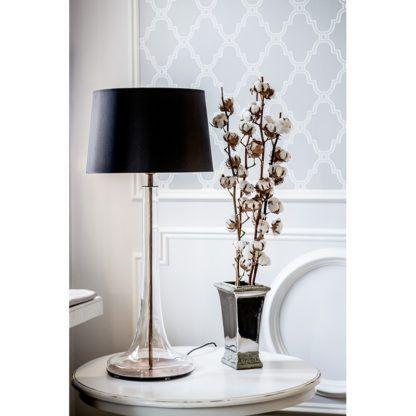 lampa stołowa aranżacja salon