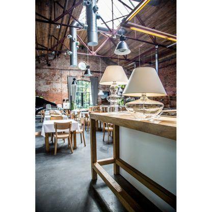 lampa stołowa aranżacja restauracja
