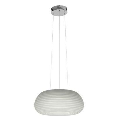 owalna lampa wisząca nowoczesna