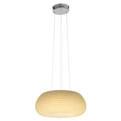 lampa wisząca z kilkoma kolorami światła
