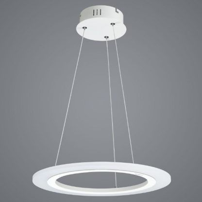 nowoczesna lampa wisząca okręg LED