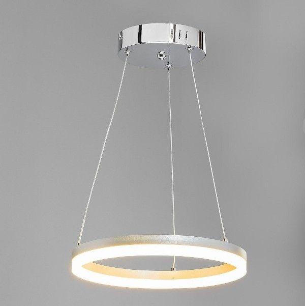okrągła lampa wisząca LED okrąg