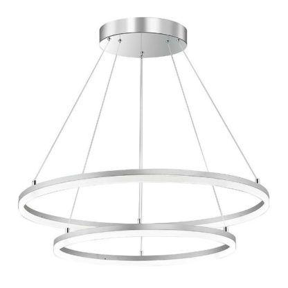 duża lampa wisząca obręcze LED