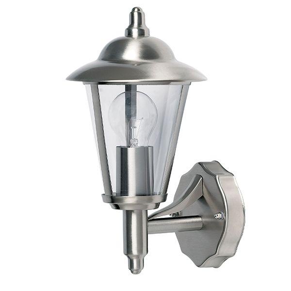 Srebrny kinkiet Klien - zewnętrzny, IP44
