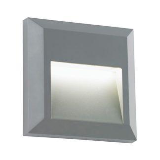 Szary kinkiet Severus - LED, IP65