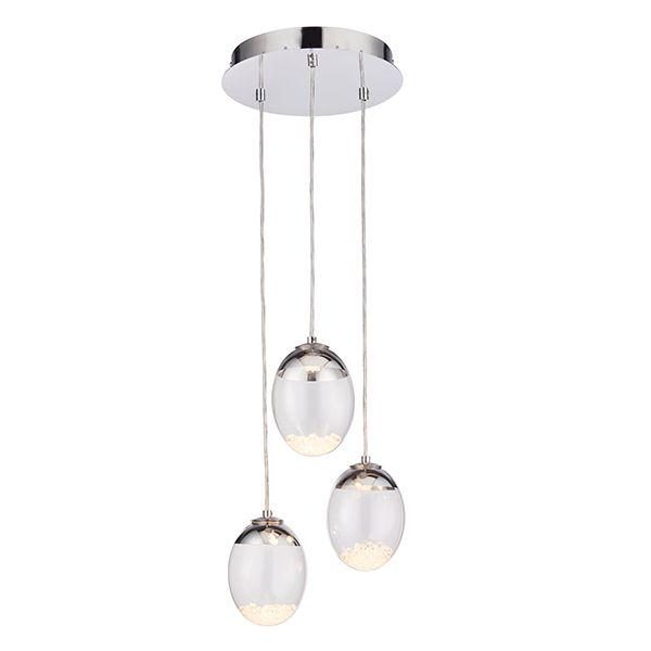 nowoczesna lampa wisząca szklana