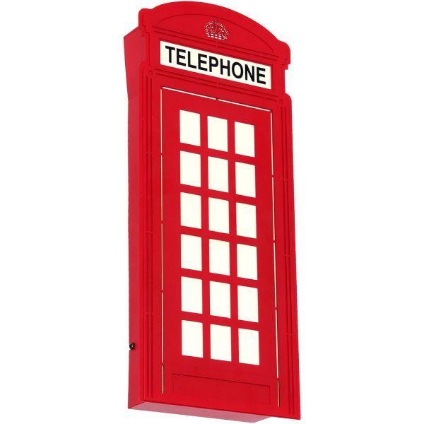 angielska budka telefoniczna kinkiet