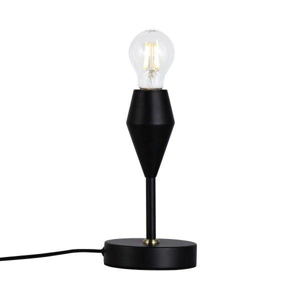 Minimalistyczna lampa stołowa Aud - Nordlux - czarna
