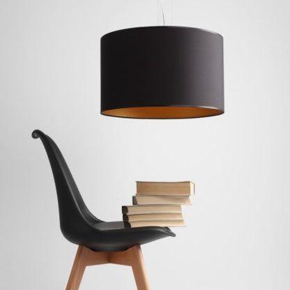 lampa wisząca z abażurem elegancka