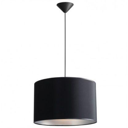 lampa wisząca czarny abażur