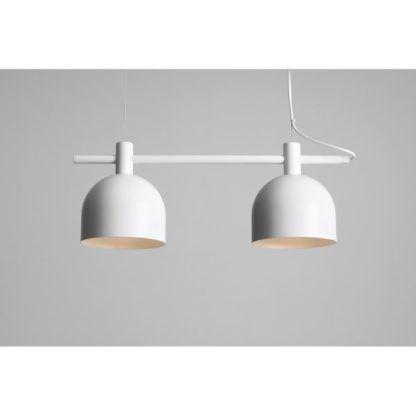 podwójna lampa wisząca skandynawska