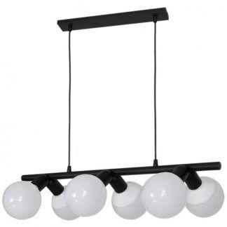 Czarna lampa wisząca Biker - czarna, metalowa