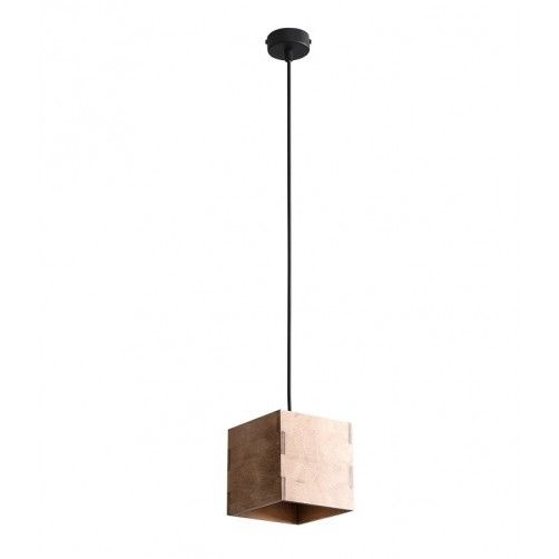 lampa wisząca ze sklejki