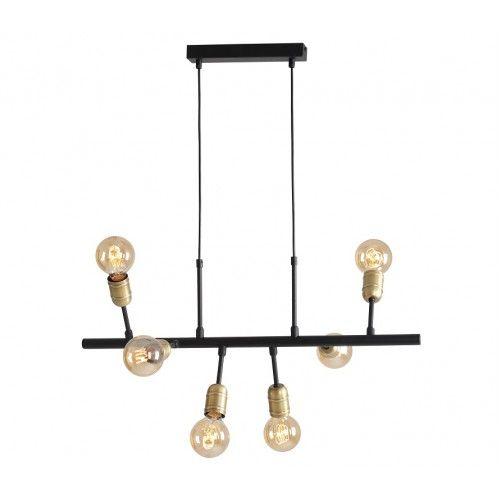 lampa wisząca złote oprawy na żarówki