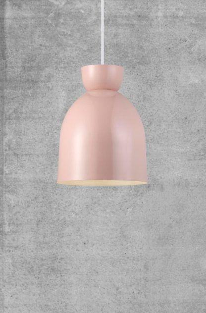 pastelowy róż lampa wisząca