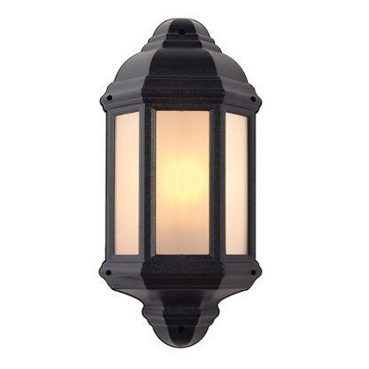 klasyczny lampion ścienny na zewnątrz
