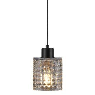 Efektowna lampa wisząca Hollywood - Nordlux - szklany, dekoracyjny klosz