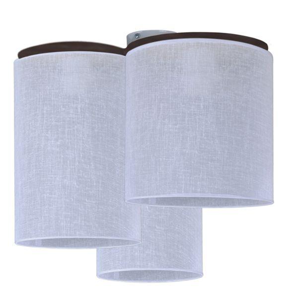 lampa sufitowa materiałowe tuby