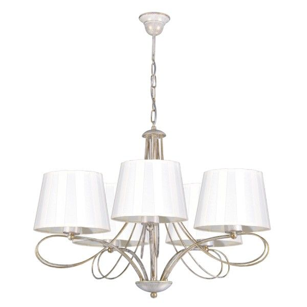 klasyczne oświetlenie w stylu pałacowym aranżacja salon