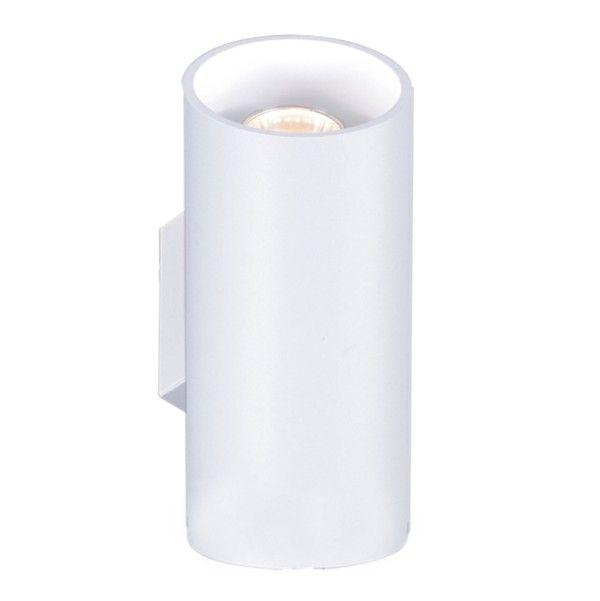 kinkiet nowoczesny biała tuba