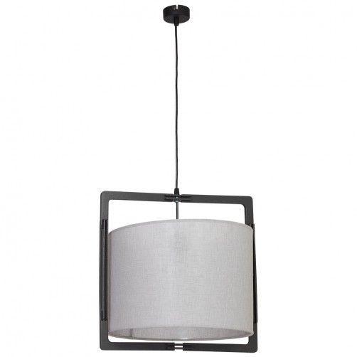 szara lampa wisząca nowoczesna