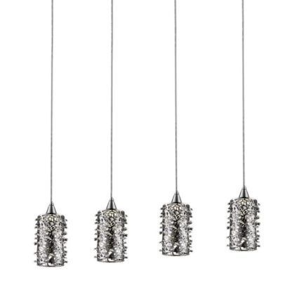 metalowa dekoracyjna lampa wisząca