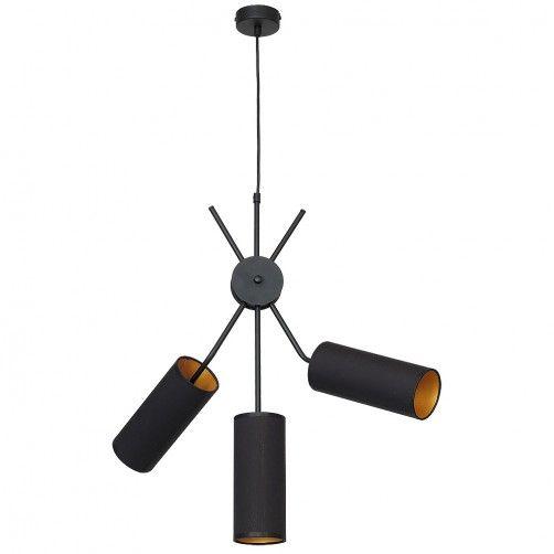 nowoczesna lampa wisząca 3 abażury