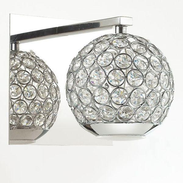 kinkiet kryształowe kule