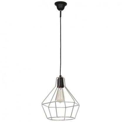 druciana lampa wisząca industrialna