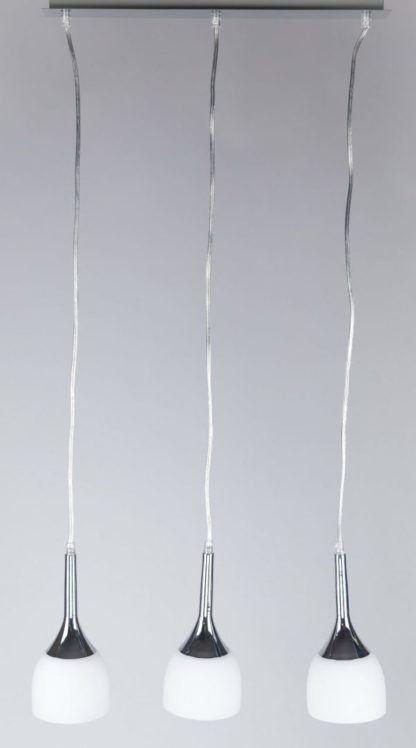 lampa wisząca nad stół mleczne szkło