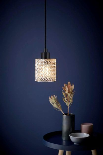 lampa wisząca mały klosz ze szkła