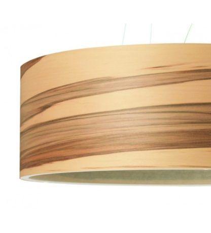 lampa wisząca z drewna