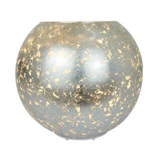 Szklana lampa stołowa Sines - dekoracyjna kula