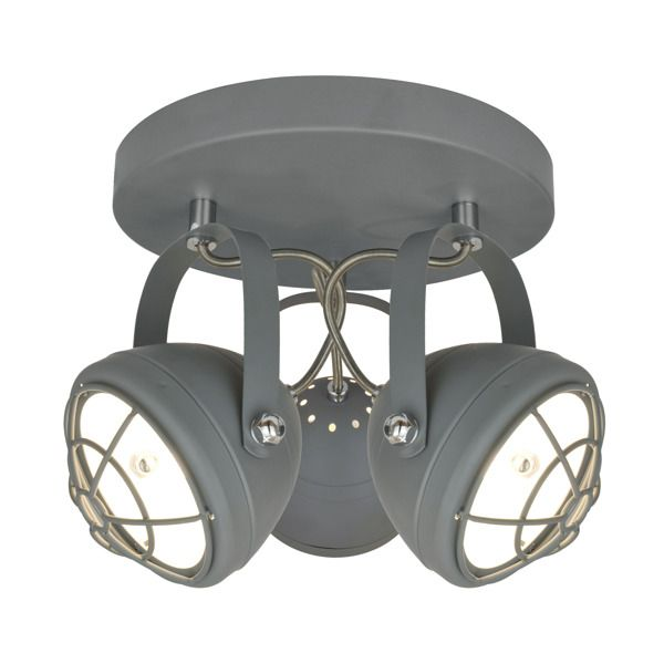 industrialna lampa sufitowa