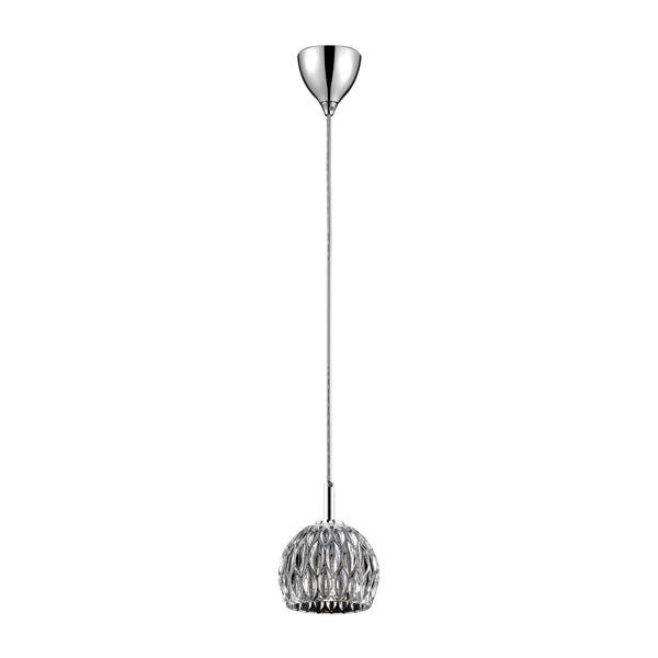 szklana kula elegancka lampa