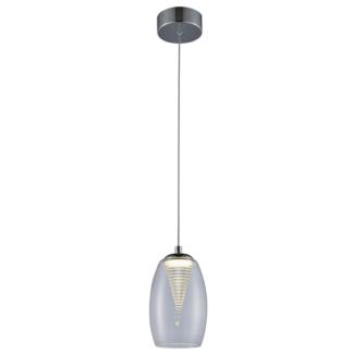 Szklana lampa wisząca Enzo - nowoczesny design